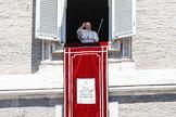 El Papa Francisco, en el Ángelus, el pasado domingo.