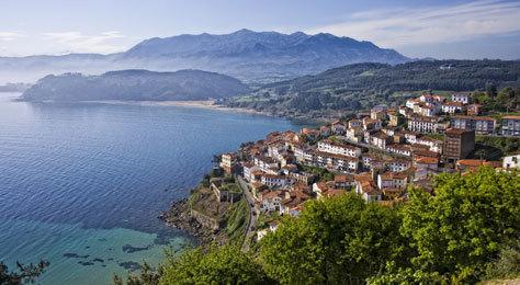 La localidad asturiana de Llastres.