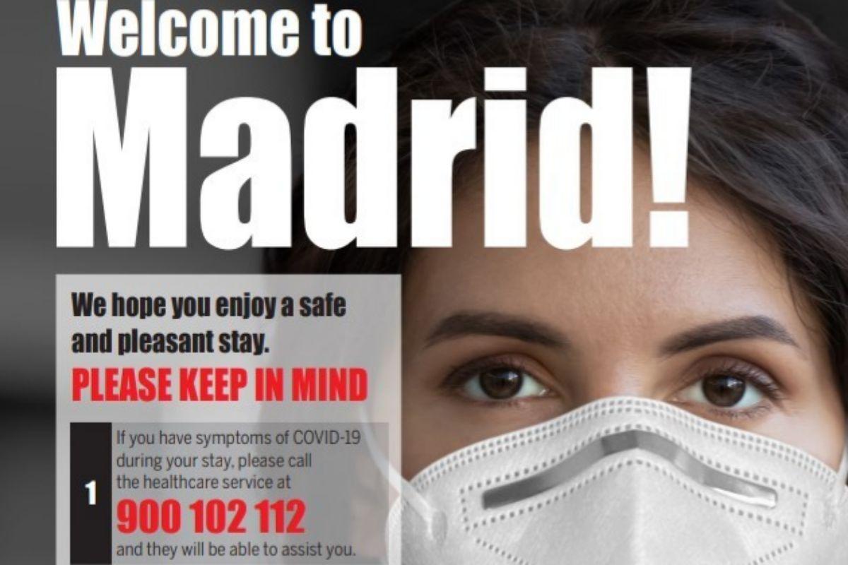 Campaña de la Comunidad de Madrid.