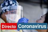 Prueba PCR para detectar coronavirus.