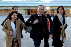 Rosell, a su salida de prisión.