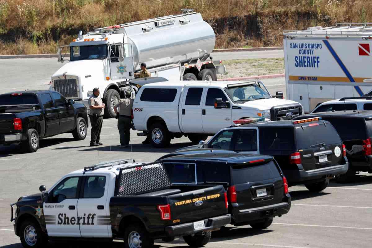 Los equipos de búsqueda que llevan a cabo las labores de búsqueda de Naya Rivera.
