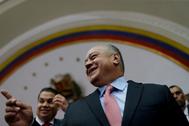 Diosdado Cabello, en Caracas, en una imagen del pasado enero.