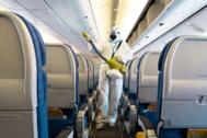 El primer vuelo sin coronavirus de todo el mundo viaja de Madrid a Gran Canaria
