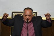 Diosdado Cabello, presidente de la Asamblea Constituyente.