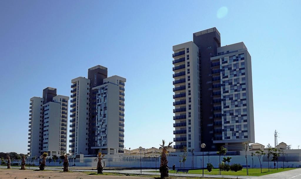 Promoción de viviendas de Sareb en Cádiz.