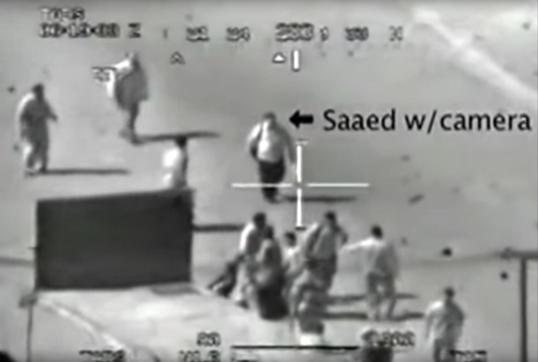 Captura de pantalla del vídeo de la tragedia de aquel 12 de julio de 2007.