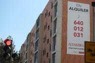 Imagen de una vivienda en alquiler en la ciudad de Castellón.