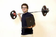 Jesús Gallego, economista y entrenador de fitness