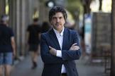 El portavoz económico del PP, Mario Garcés, en un momento de la entrevista, en Madrid.