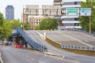 Cerrado por importantes daños estructurales el puente de Joaquín Costa, que será demolido