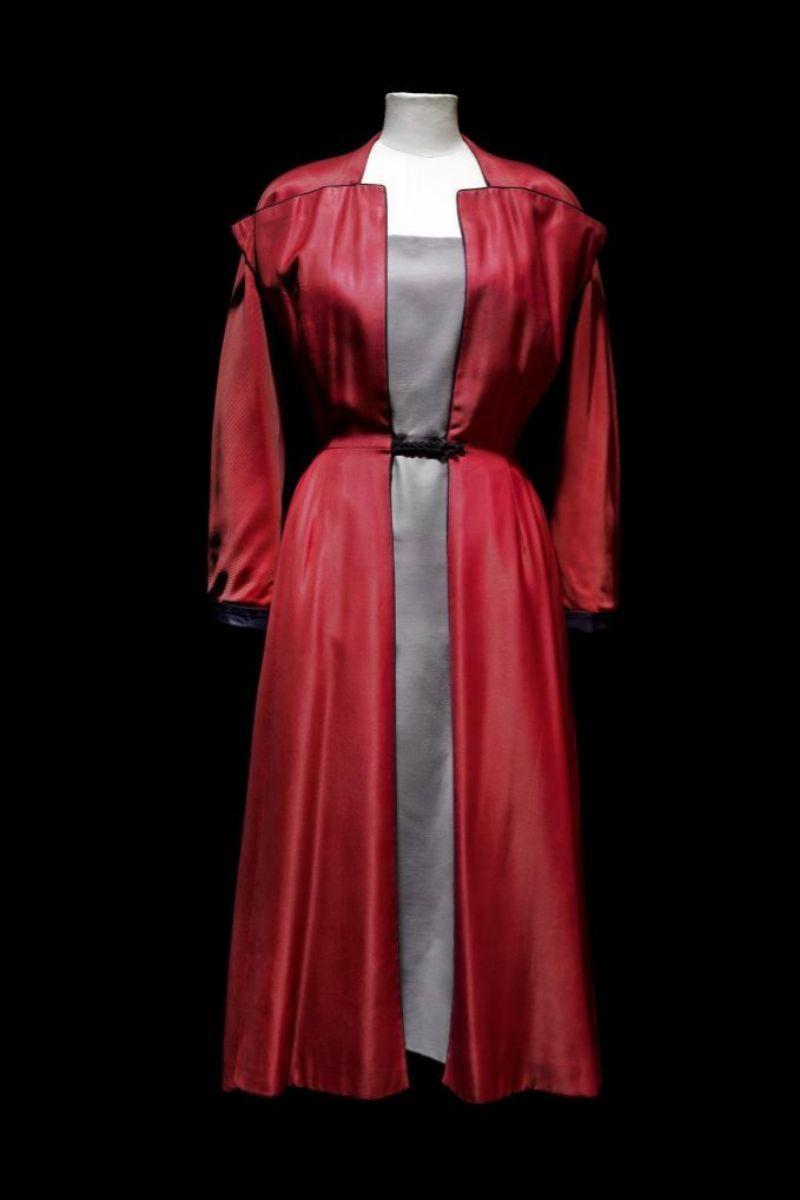 Vestido de Dior de la exposición 'De arte y moda'.