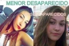 Alerta difundida en 2016 por la Guardia Civil tras la desaparición de Vanessa.