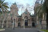 Palacio de Justicia de Barcelona, sede de la Audiencia Provincial.