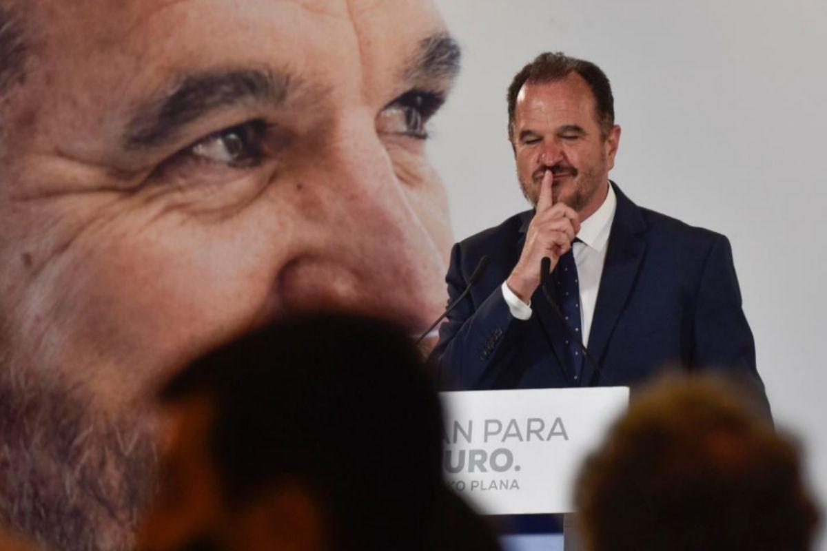 Carlos Iturgaiz valora los resultados del PP en el País Vasco.