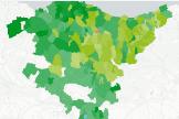 El pueblo donde EH Bildu ha logrado el 95% de los votos
