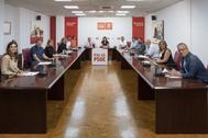 Reunión de la Comisión Ejecutiva del PSE.