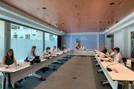 Primera reunión del Consejo de Gobierno vasco tras el 12-J.