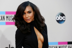 FILE PHOTO: Actress lt;HIT gt;Naya lt;/HIT gt; Rivera poses as she arrives at the 41st American Music Awards in Los Angeles