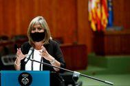 La alcaldesa Núria Marín.