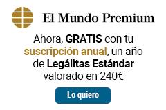 Con tu suscripción anual de Premium GRATIS 1 año de Legálitas Estándar