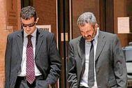 Los fiscales Anticorrupción de Alicante Felipe Briones y Pablo Romero.