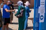 PCR para las 7.100 temporeras retenidas en Huelva antes de volver a Marruecos