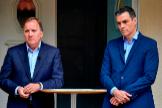 Pedro Sánchez reunido con Stefan Lofven, primer ministro sueco