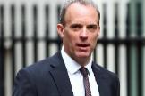 El ministro de Exteriores británico, Dominic Raab.