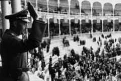 Heinrich Himmler, en la Plaza de Toros de Las Ventas en 1940.