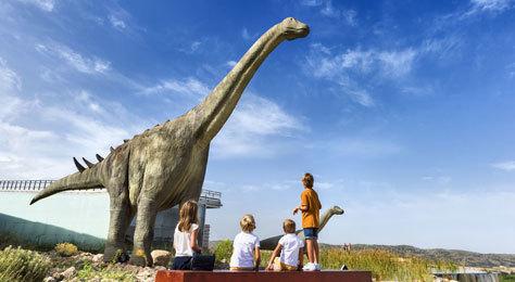 Escena del Museo Paleontológico de Cuenca.