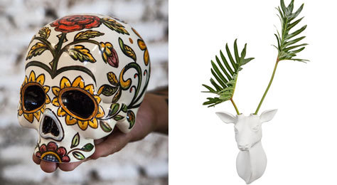 Piezas de autor de la cerámica de Talavera.