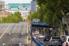 El puente de Joaquín Costa, que será derribado por daños estructurales