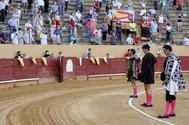 Finito, Calita y López Simón, primer paseíllo del verano del coronavirus