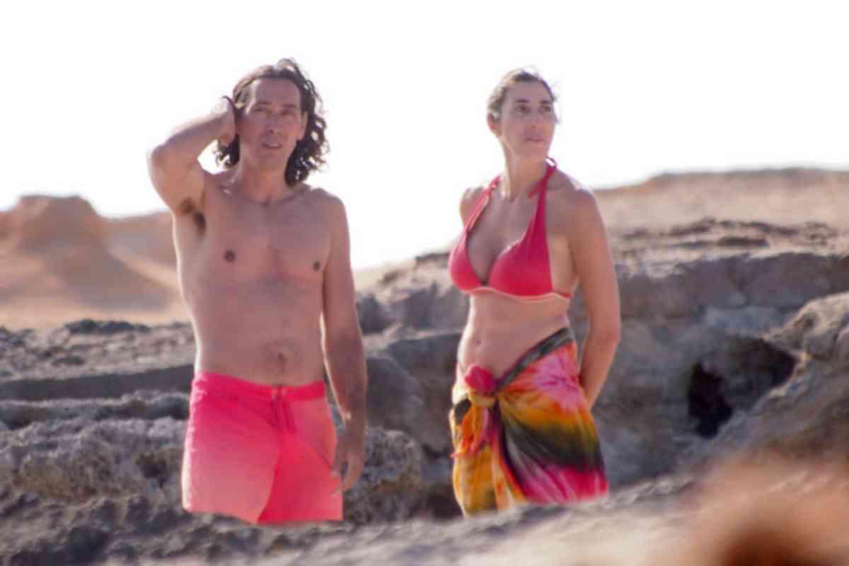 La pareja, en unas vacaciones de 2014, en Formentera.