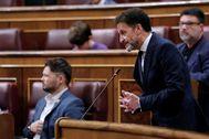 El portavoz de adjunto de Ciudadanos, Edmundo Bal, en la sesión de control al Gobierno de este miércoles en el Congreso.
