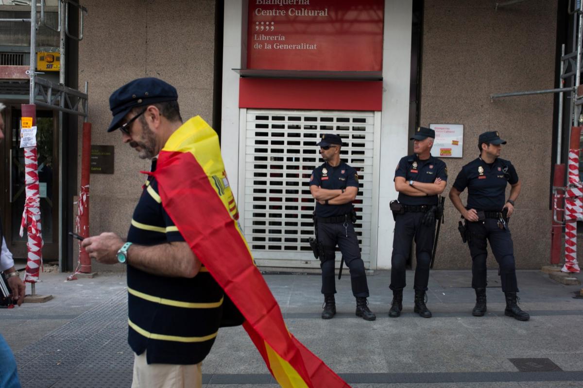 El Supremo eleva hasta dos años de cárcel la pena a los condenados por asaltar Blanquerna sin apreciar discriminación
