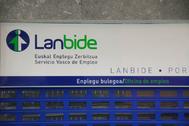 Una oficina del Servicio Vasco de Empleo, Lanbide.