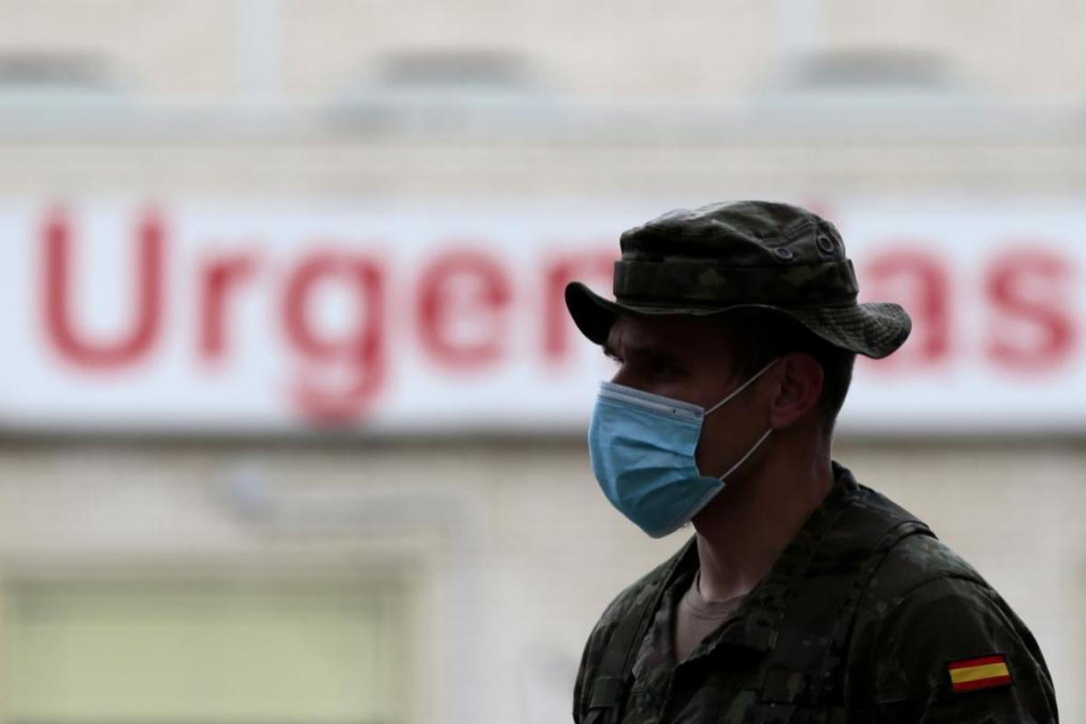 Las Fuerzas Armadas actúan de nuevo, ahora en Huelva, en operaciones para frenar los rebrotes de coronavirus