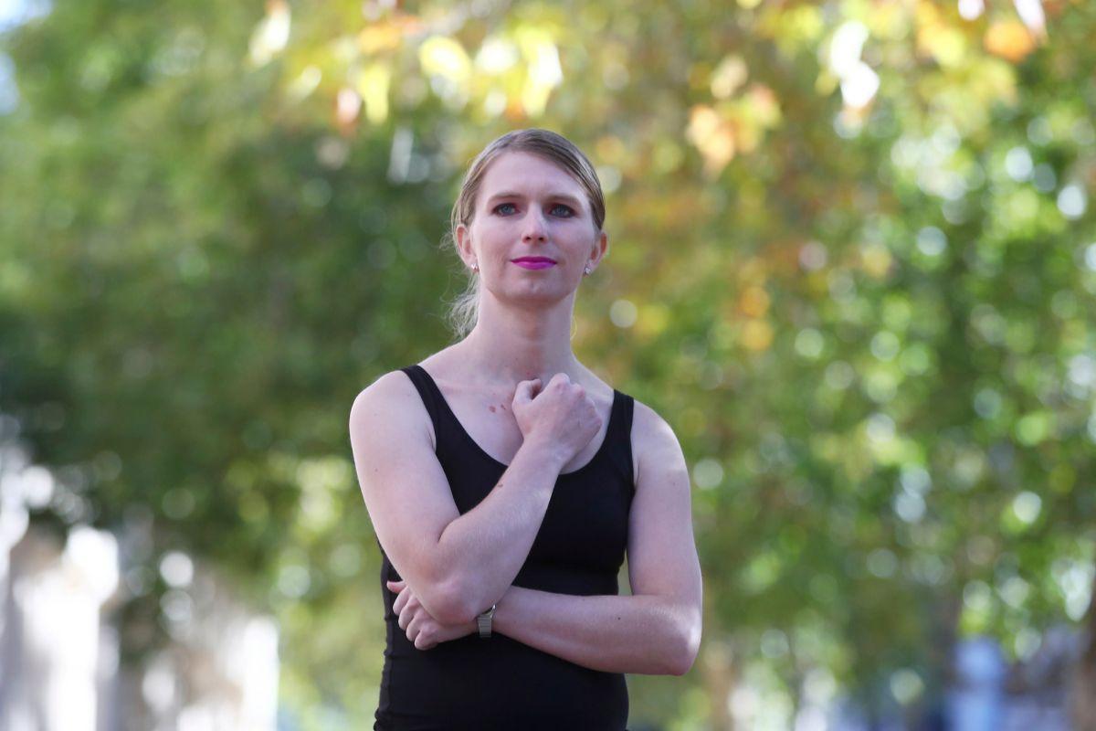 La informante Chelsea Manning.