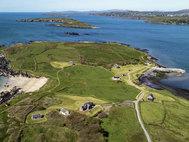 Panorámica de Horse Island, al suroeste de Irlanda.