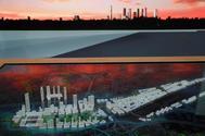 Presentación de la maqueta del proyecto final de Madrid Nuevo Norte.