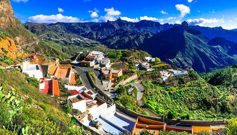 Los pueblos de Canarias también atraen al viajero rural.