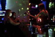 Una discoteca en Madrid.
