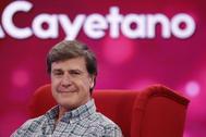 Cayetano Martínez de Irujo, en un programa de televisión.