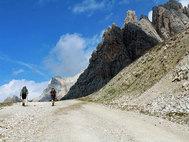 Un tramo del camino por el Véneto italiano.