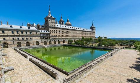 El Monasterio de San Lorenzo de El Escorial.