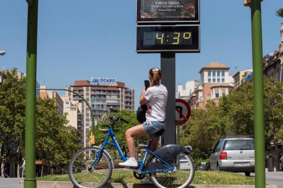 40 provincias, en riesgo en el primer día de la ola de calor que será extremo en Vizcaya
