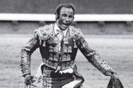 Muere Raúl Sánchez, el torero legionario