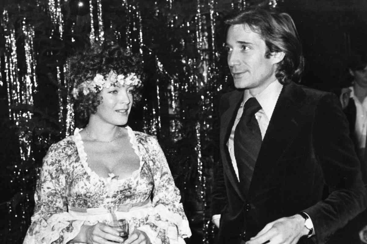 Schneider, con su segundo marido, Daniel Biasini, con quien se casó en 1975, el mismo año en el que se divorció de Harry Meyen.
